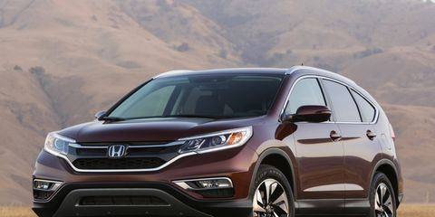"""If you want to sound like an auto designer/PR professional, you'd probably refer to the 2015 Honda CR-V crossover as an """"evolutionary"""" design, rather than a revolutionary one."""