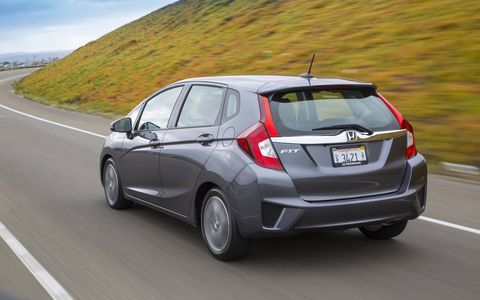 The clutch pedal and shifter in the 2015 Honda Fit EX just feel too sloppy for our taste.