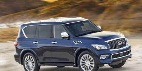 The Infiniti QX80 and QX56 are being recalled for a possible fuel problem.