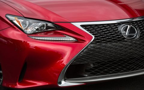 The spindle grille and wacky headlights are two of the most polarizing styling decisions on this Lexus