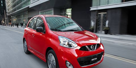 """""""With no plans for the United States,"""" says the Nissan press release, """"Micra will truly be a Canadian car and has been extensively tested and perfected for the Canadian driver..."""""""