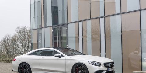 2015 Mercedes S550 Coupe Starts At 120 425