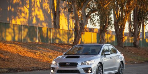 Driving the 2015 Subaru WRX Limited is an absolute blast.