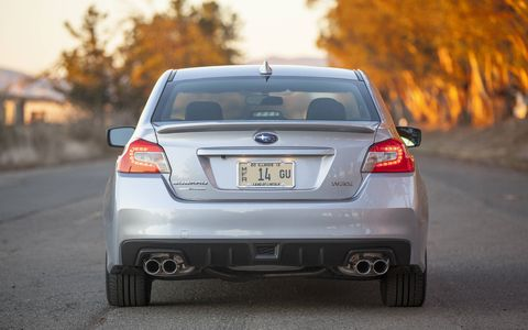 Chassis improvements on the 2015 Subaru WRX Limited are much better than the previous generation car.