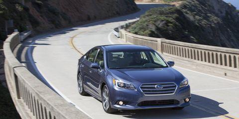 The 2015 Subaru Legacy 2.5i Premium has real character.