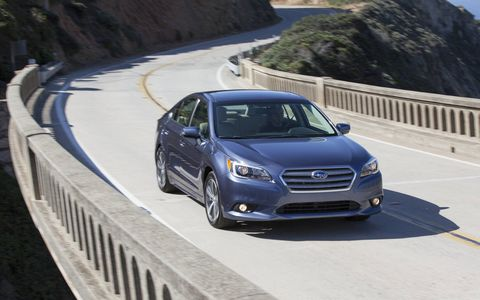 The 2015 Subaru Legacy 2.5i Premium has real character.
