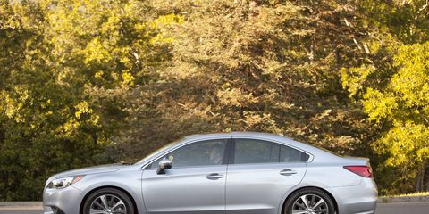 The whole 2015 Subaru Legacy 3.6R Limited package is really good.