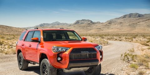 The 2015 Toyota 4Runner TRD Pro comes in at a base price of $41,995.