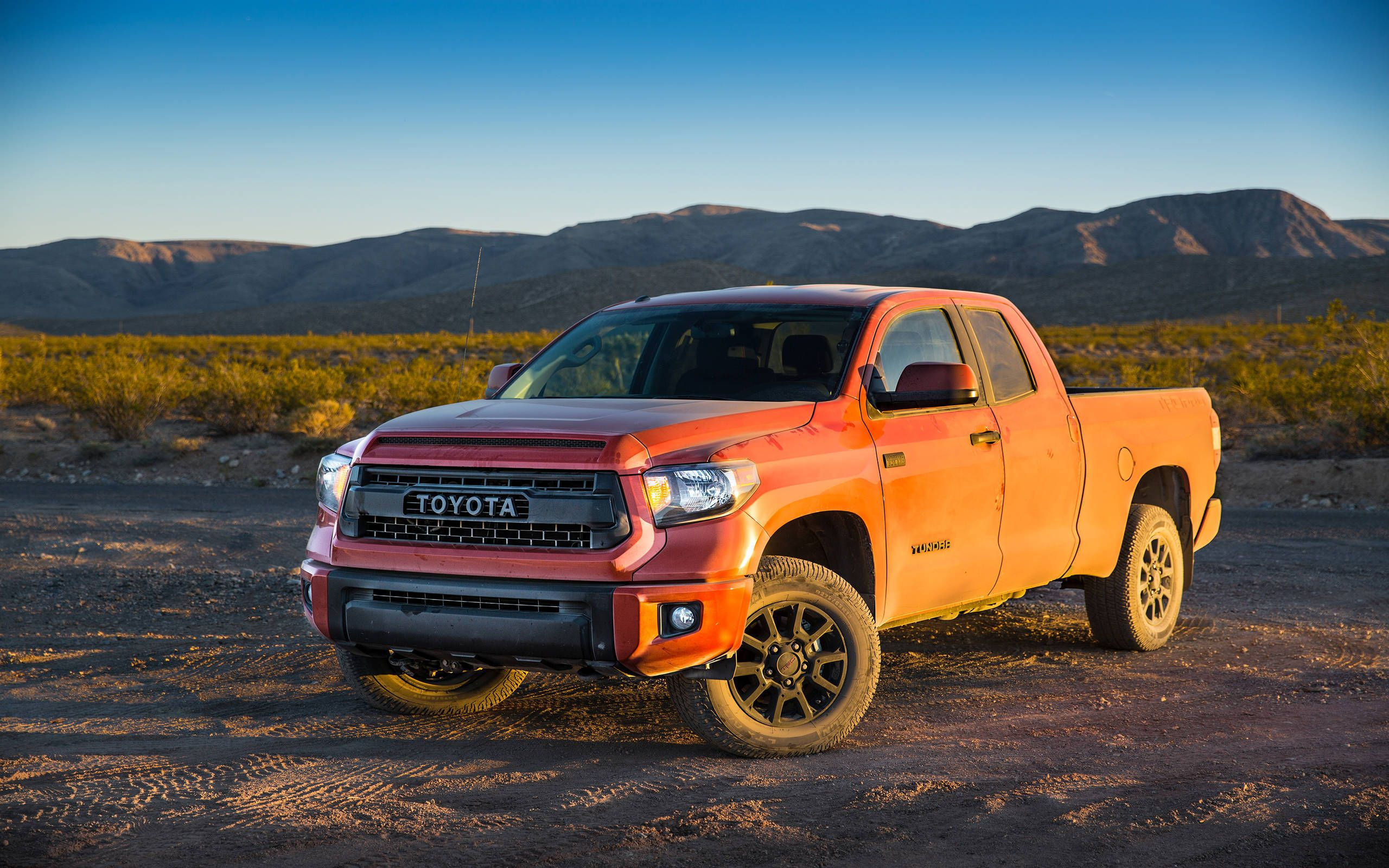 Sand Blasting Toyota Tundra Trd Pro Series Priced At 42 385