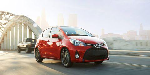 The 2015 Toyota Yaris starts at $15,670.
