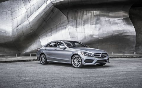 The 2015 Mercedes-Benz C300 4Matic Sedan is a real athlete in comparison to its V6 C400 counterpart.