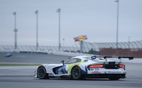 Action from the Jan. 9-11 Roar Before the 24 at Daytona International Speedway.