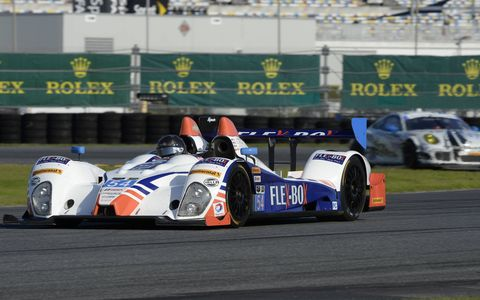 Action from Saturday's Roar Before the 24 test sessions from Daytona International Speedway.
