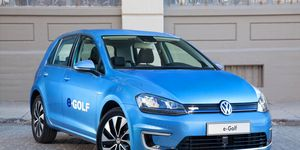 Alll examples of the e-Golf sold in the U.S. will be part of the recall.