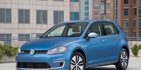 The VW e-Golf EV is due to get a significant upgrade as soon as the end of 2016.