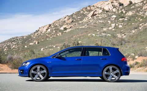 The Golf R has a six-speed dual-clutch automated manual transmission.