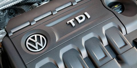 Volkswagen is accused of using a defeat device to skirt U.S. emissions regulations on its 2.0-liter TDI diesel engine.