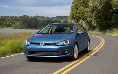 The 2015 Volkswagen Golf 1.8T S 4-Door is an excellent small car at a really competitive price.