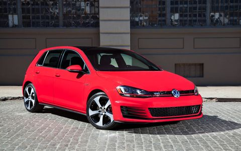 The 2015 Volkswagen Golf GTI SE 4-Door comes in at a base price of $29,915 with our tester topping off at $30,910.