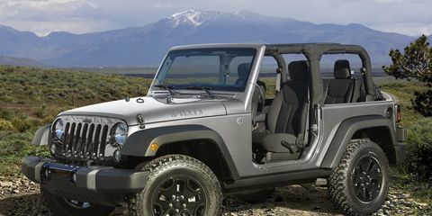 The next Jeep Wrangler won't go all-aluminum, but its doors, hood and other panels could be made of the lightweight metal.