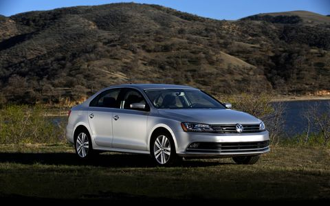 The VW Jetta is efficient and can be entertaining to drive, but the interior accommodations are mediocre.