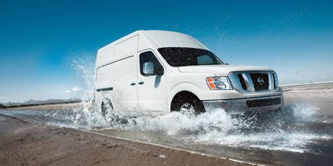 The awesome Nissan NV