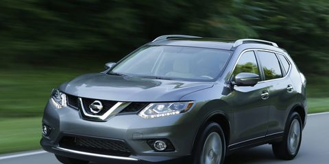 The Nissan Rogue was one of the company's big sellers in August.