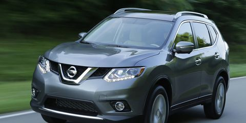 The 2015 Nissan Rogue starts at $23,650 and tops out at $30,490.