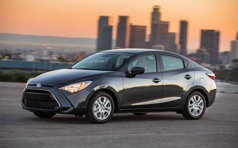 The new 2016 Scion iA debuted ahead of the New York auto show