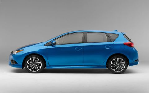 The 2016 Scion iM debuted ahead of the New York auto show