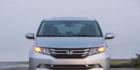 As far as minivans go, the 2015 Honda Odyssey is a good one.