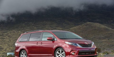 Combined with the standard tow prep package, the V6 gives the Sienna a 3,500-pound towing capacity.