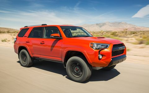 The Toyota vehicle produces 270 hp at 5,600 rpm and 278 lb-ft of torque at 4,400 rpm.