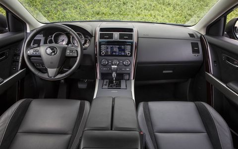 The 2015 Mazda CX-9 Grand Touring has easy to use controls and more space than previous models.