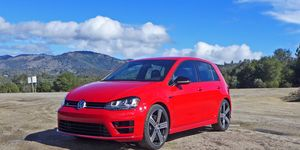 We drive the U.S.-spec 2015 Volkswagen Golf R, the hottest take on the seventh-generation Golf yet.