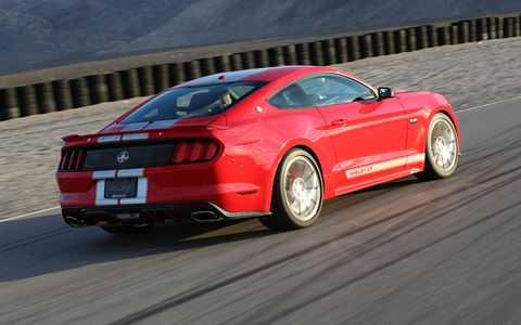 The Shelby GT costs about $40K in addition to a donor car.