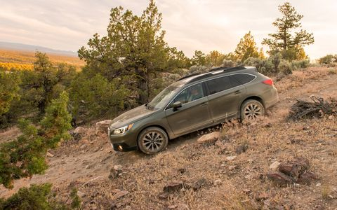 The 2015 Outback builds on the stellar safety performance of the previous model, adding new front seat-cushion airbags that help to keep occupants in place in a frontal collision.