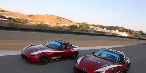 The 2016 Mazda Miata global cup car will level playing fields for racers and make for closer races -- at a great price.