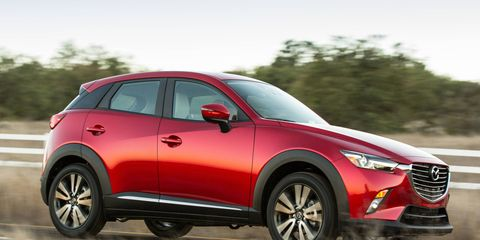 The 2016 Mazda CX-3 goes on sale in mid-August.