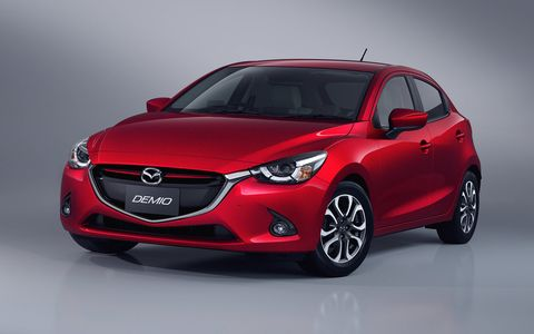 The Mazda2 will land on U.S. shores later this year.