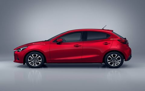 This is the fourth generation of the Mazda 2.