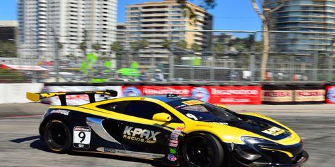 Alvaro Parente won Sunday's Pirelli World Challenge race.