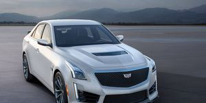Cadillac will produce exclusive Crystal White Frost editions of its all-new high performance V-Series cars, starting in October.
