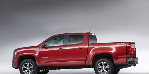 The 2017 Chevy Colorado goes on sale in the fourth quarter of 2016.