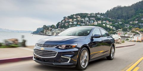 GM redesigned the Chevrolet Malibu in 2016, leading to its best year since 1980.
