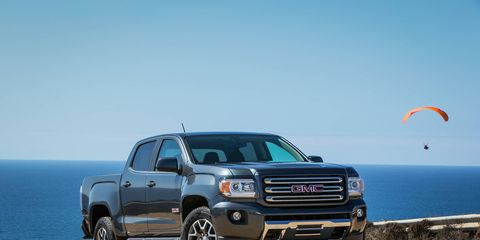 The 2016 GMC Canyon adds a Duramax turbodiesel option, set to roll out later this year.