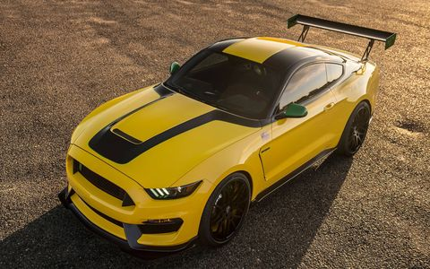 """Check out the one-off Ford Mustang Shelby GT350 """"Ole Yeller."""""""