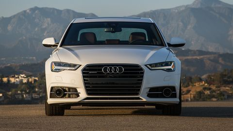 The 2019 Audi A6 comes with a 335-hp turbocharged V6.