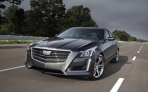 2016 Cadillac CTS AWD
