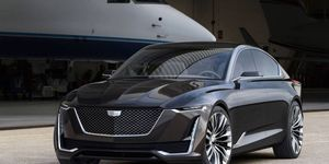 Cadillac's Escala concept is a luxury four-door hatch similar to the Audi A7.
